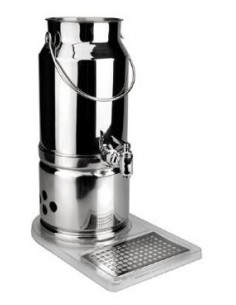 DISPENSADOR DE LECHE INOX 18/10 5 LTS. LACOR MOD. 69030.