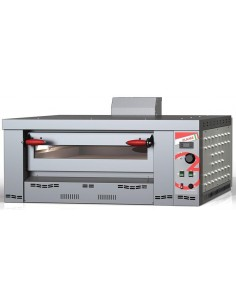 HORNO PIZZA GAS 6 PIZZAS DE  34 CMS MOD FLAME 6