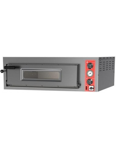 HORNO PIZZA 6 DE 330MM.  ELCTRICO 400V  MOD ENTRY 6