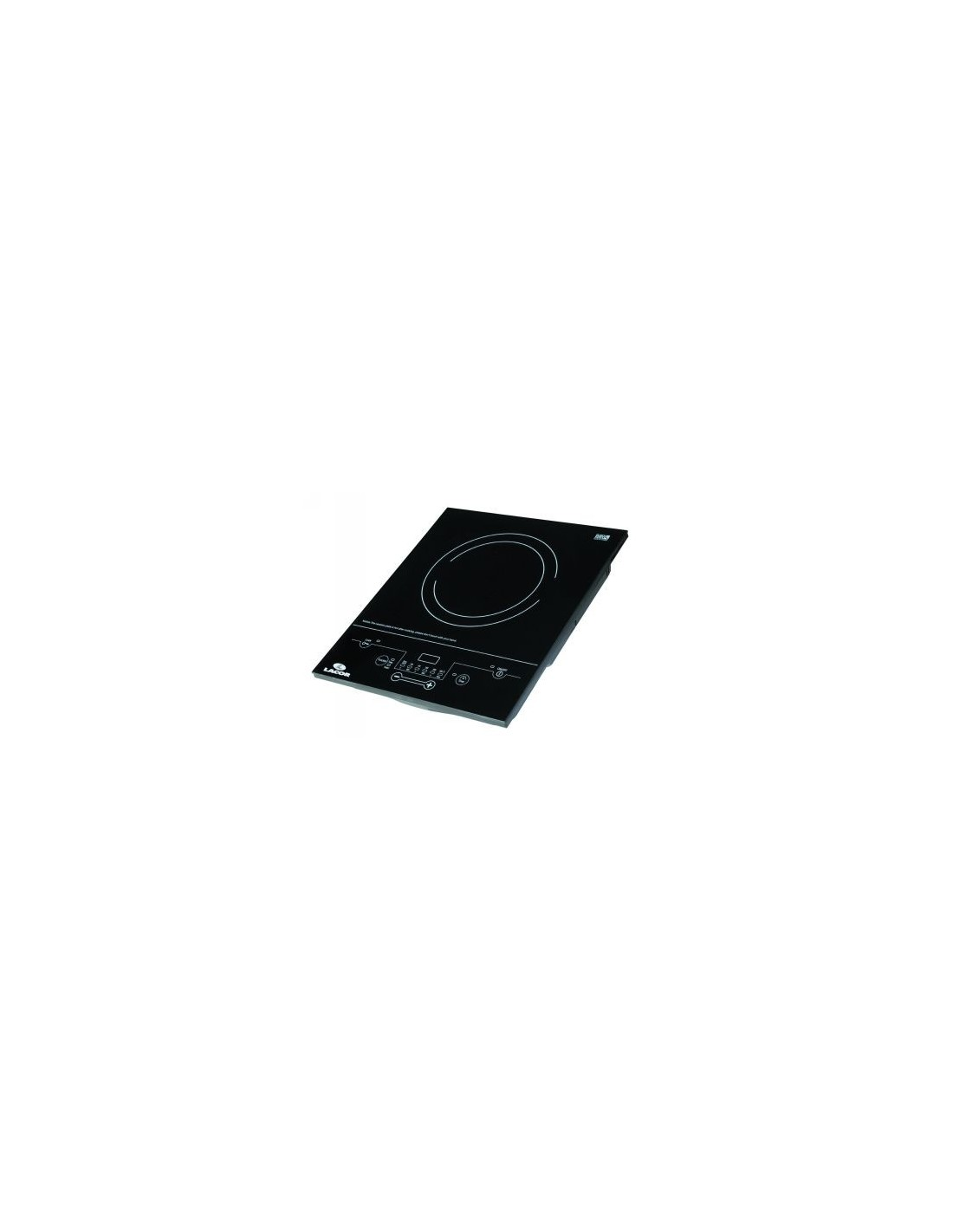 Placa de inducci n port til 2000w lacor mod 69032 - Placa induccion portatil ...